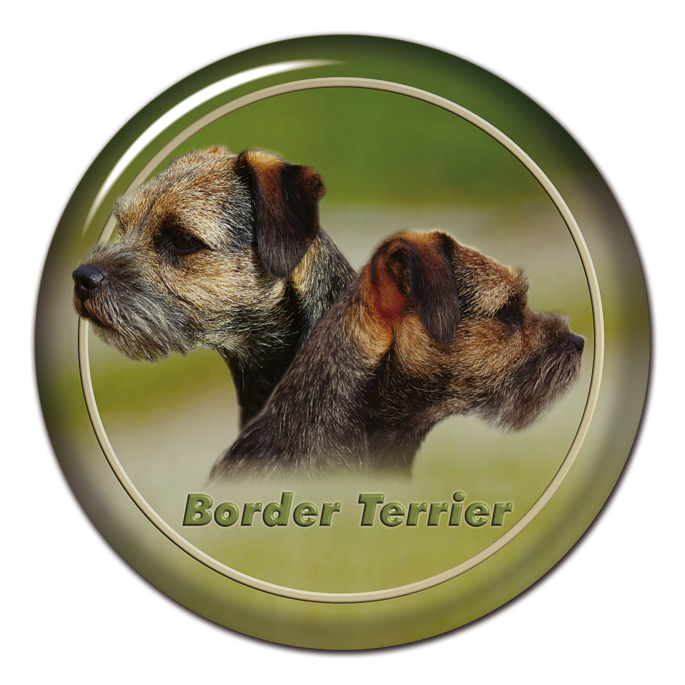 3D samolepka Border Teriér 101 C od AllDogStickers.cz - psí ... 155c0847d0